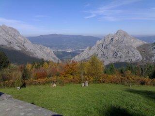 Montañas de Urquiola