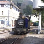 Museo del ferrocarril. Tren de vapor en Azpeitia
