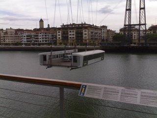 Barquilla del Puente Colgante de Portugalete