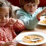 Dietas para niños. Engordar