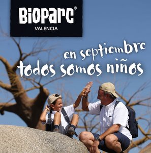 Bioparc Valencia. todos somos niños