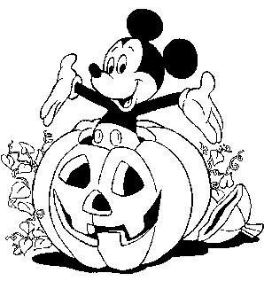 Dibujos de Halloween para imprimir y colorear  conHijos.es