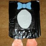 Disfraz sencillo de pingüino