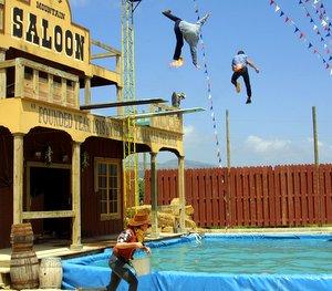 Saltadores Western Park