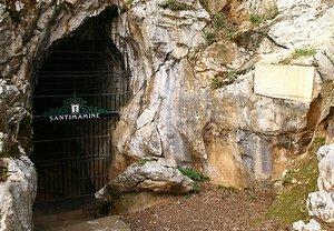 Entrada Cueva Santimamiñe