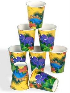 vasos de dinosaurios