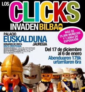 clicks Playmobil Bilbao
