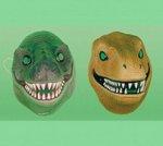 Caretas de dinosaurio