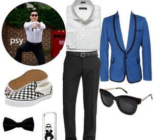 Disfraz psy gangnam style