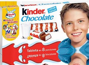 tableta kinder chocolate