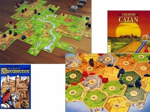 Carcassonne y Catan