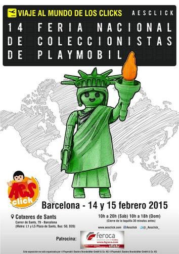 Feria Playmobil Barcelona. 2015