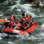 Cienlagos. Rafting